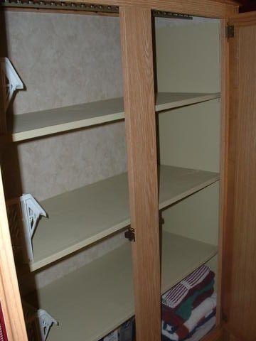 Custom Fit Wood Shelves