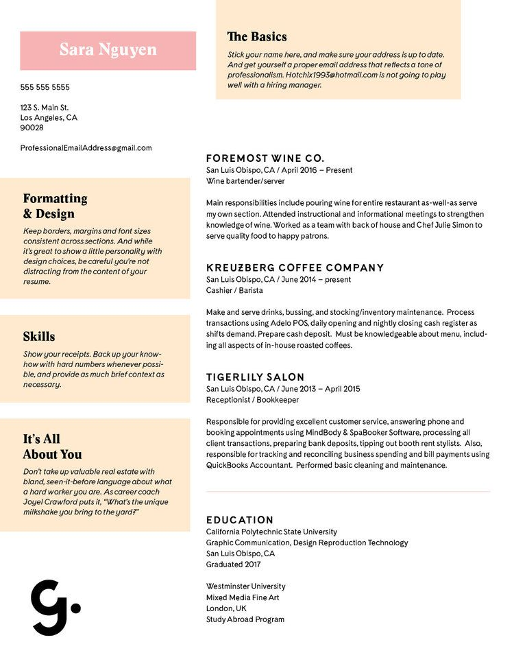 Want To Know The DNA Of A Great Resume? Here's One We