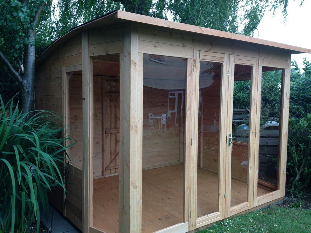 10x8 salisbury summer house - Garden Sheds With Patio