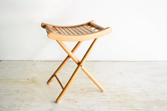 Wood Stool Camp Stool Folding Stool Camping Chair Small Wood