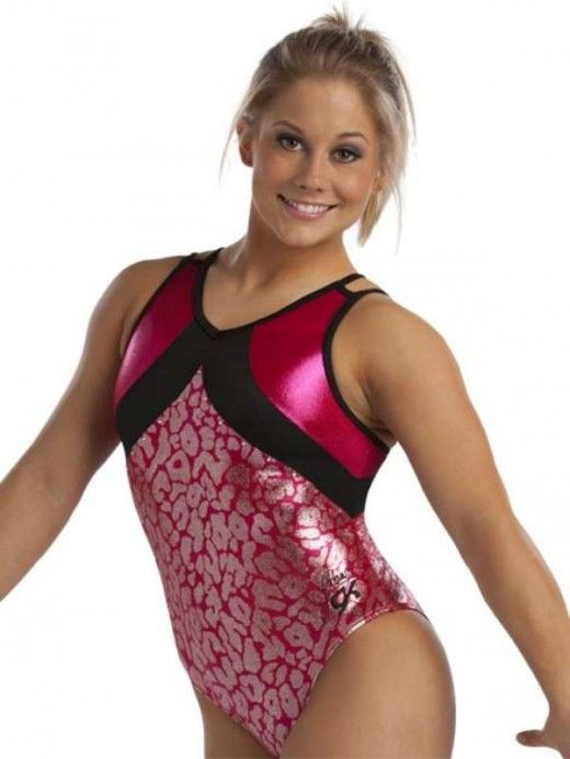 Shawn Johnson Leotards for 2012 Holiday