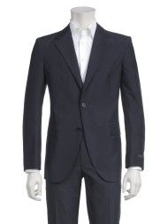 Prada Suit Pinstriped Dark Blue in Blue for Men (pinstriped dark blue)