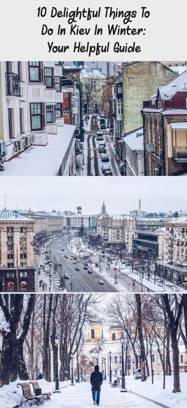 The list of delightful things to do in Kiev in winter. They are all interesting and unique. Check these super cool winter Kiev tips for your trip to Ukraine. #EuropeTravel #Kiev #Ukraine #WinterTravel #EasternEurope #travelingwinterRoadTrips #travelingwinterCouple #travelingwinterAesthetic #travelingwinterUSA #Swedentravelingwinter