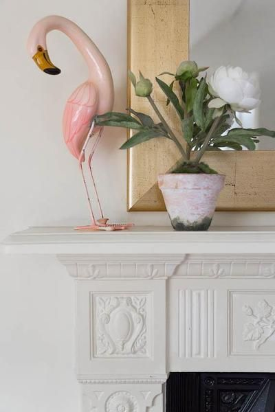 Flamingo On The Mantle Onefinestay Flamingo Gifts