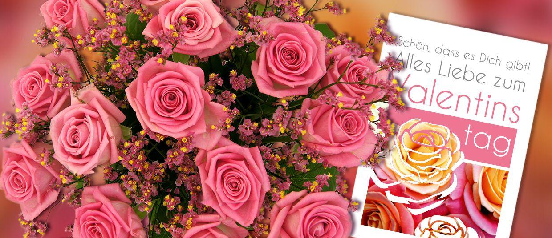 Rosenbouquet Zum Valentinstag Https://www.star Flower.de/de