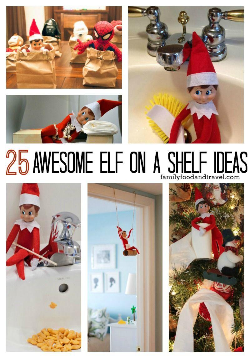 25 awesome elf on a shelf ideas