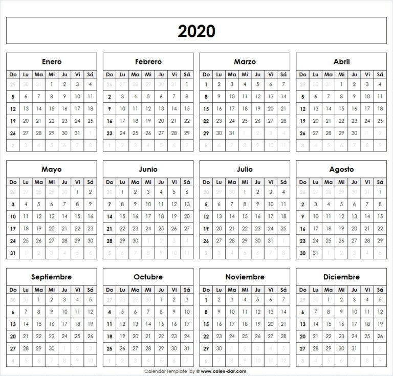 Calendario 2020 Argentina Para Imprimir Pdf.Calendario 2020 Feriados Para Imprimir Planificadores