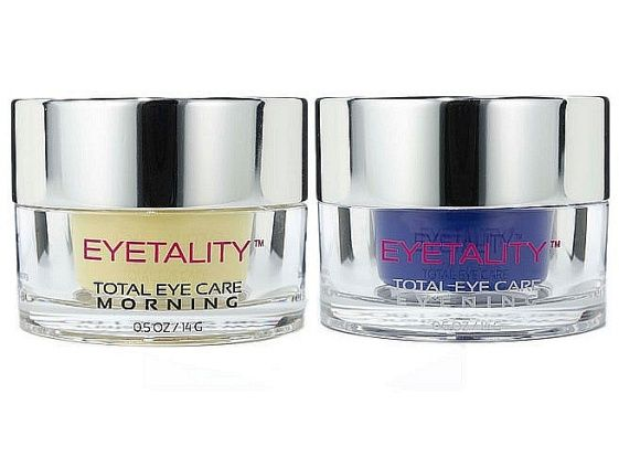 Serious Skin Care Eyetality Eye Transformation Set The Claims This Kit Has Separate Day And Night Anti Aging Eye Cream Sensitive Face Moisturizer Skin Firming