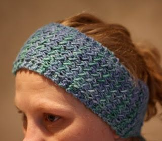 Easy Knit Headband Free Pattern | Free Knitting Pattern ...