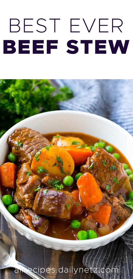 Easy beef stew | Easy beef stew, Easy beef stew recipe ...