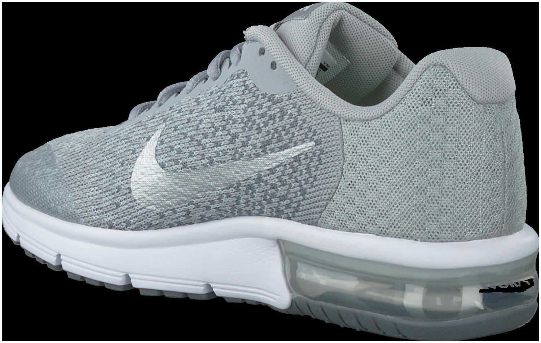 Grijze NIKE Sneakers AIR MAX SEQUENT 2 KIDS schoenen