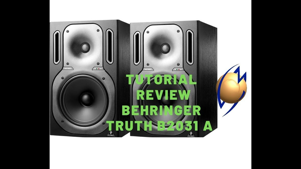 Tutorial / Review monitores de referência Behringer Thuth