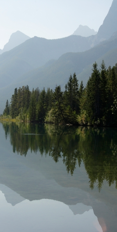 Canmore Reservoir, Canmore.