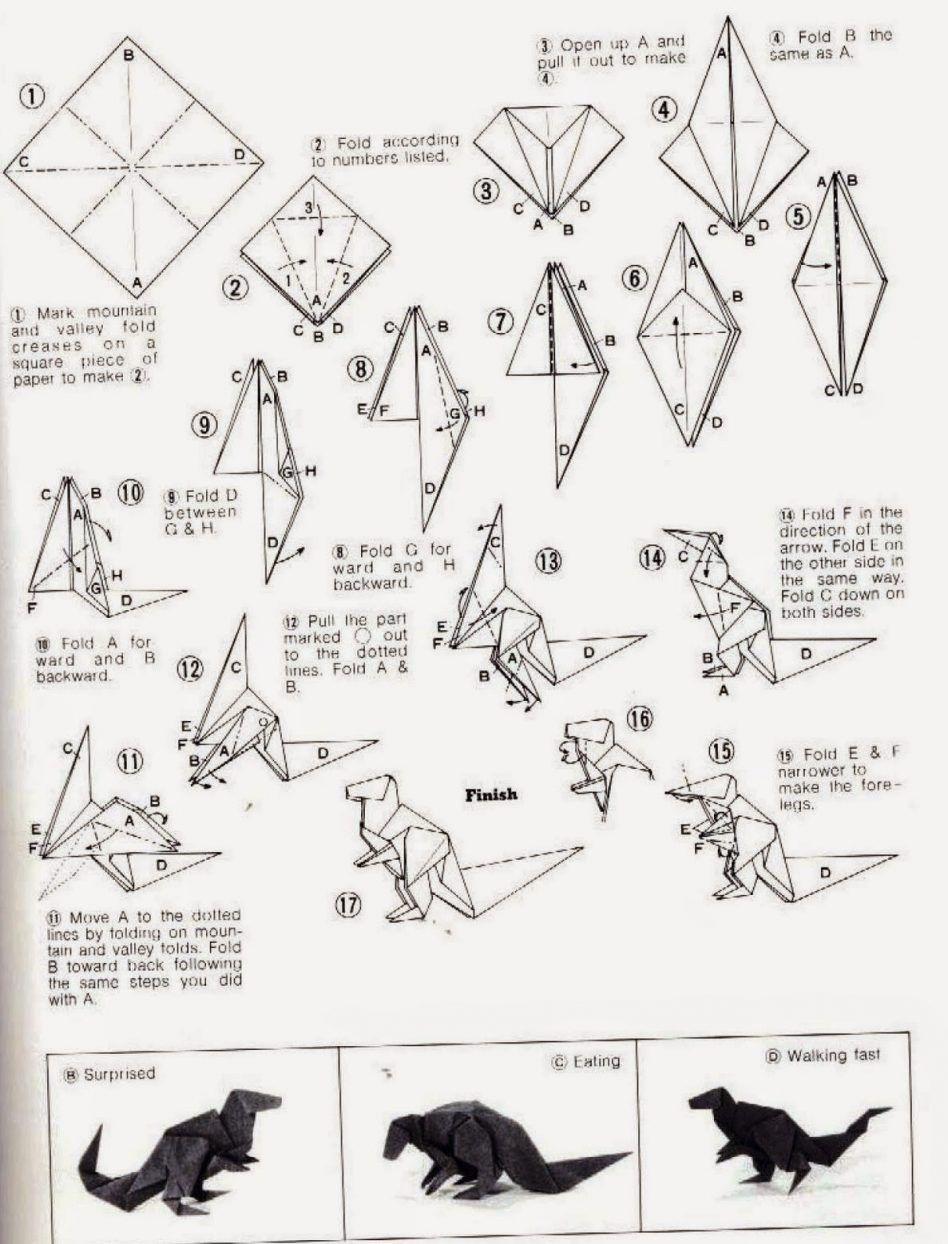 ancient dragon origami diagrams ancientdragon