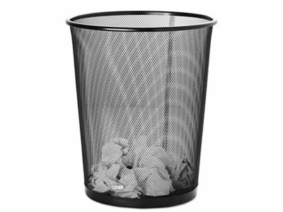 Expanded Metal Trash Can For Office Home School Park Beach City Road Trash Can Expanded Metal Metal Trash Cans