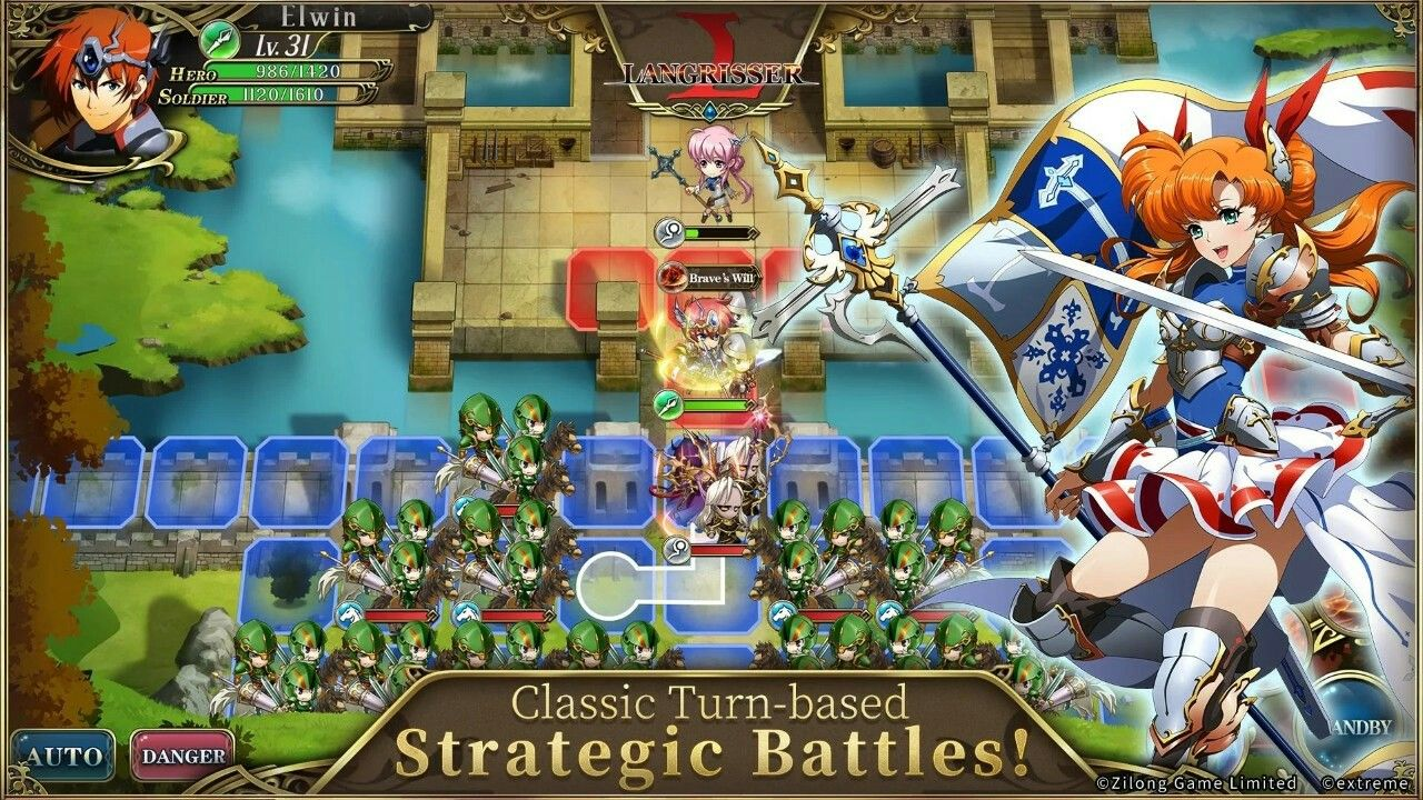 Langrisser Mobile Possibly the first AAA mobile strategy