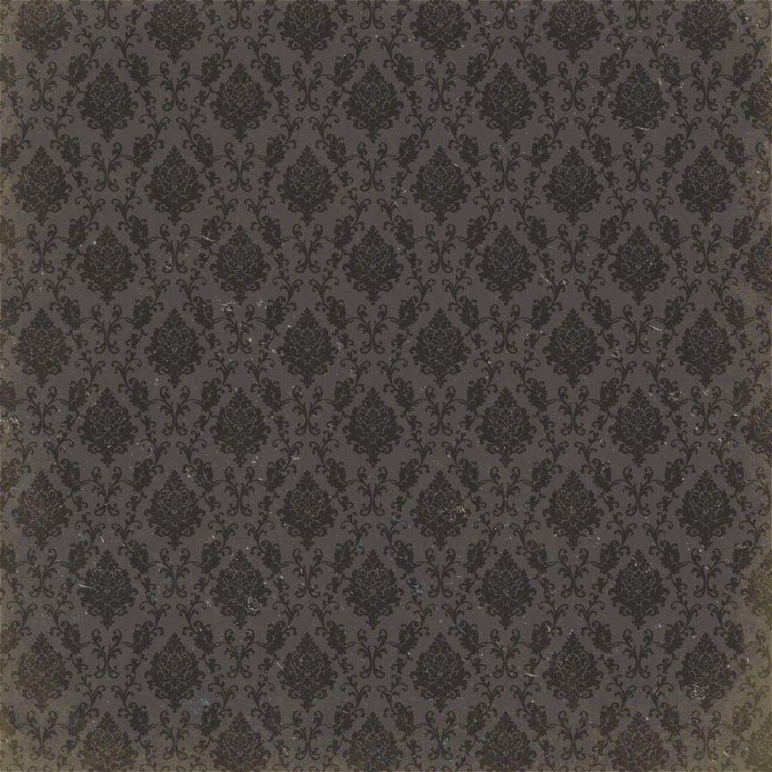 Dark Black On Grey Vintage Background Authentique Paper Scrapbook Designs Background Vintage