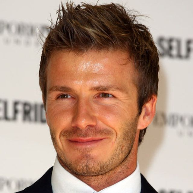 Pictures Of David Beckhams Haircuts David Beckham Spiky Texture - Latest hairstyle of beckham
