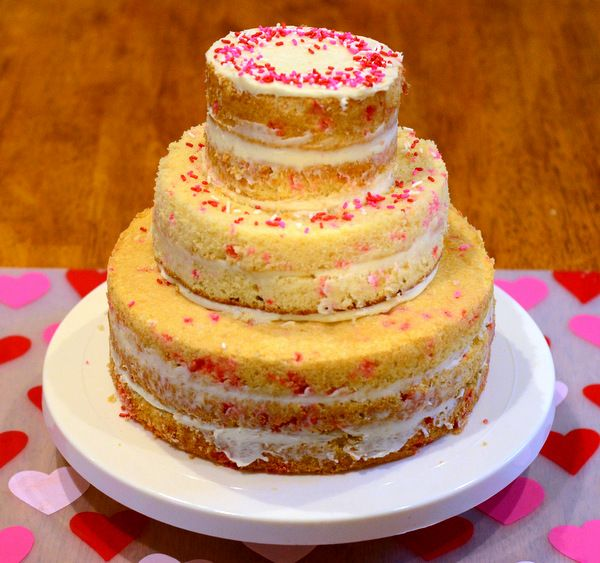 How to Ice a Semi-Naked Cake: FREE Step-by-Step Tutorial | Cake ...