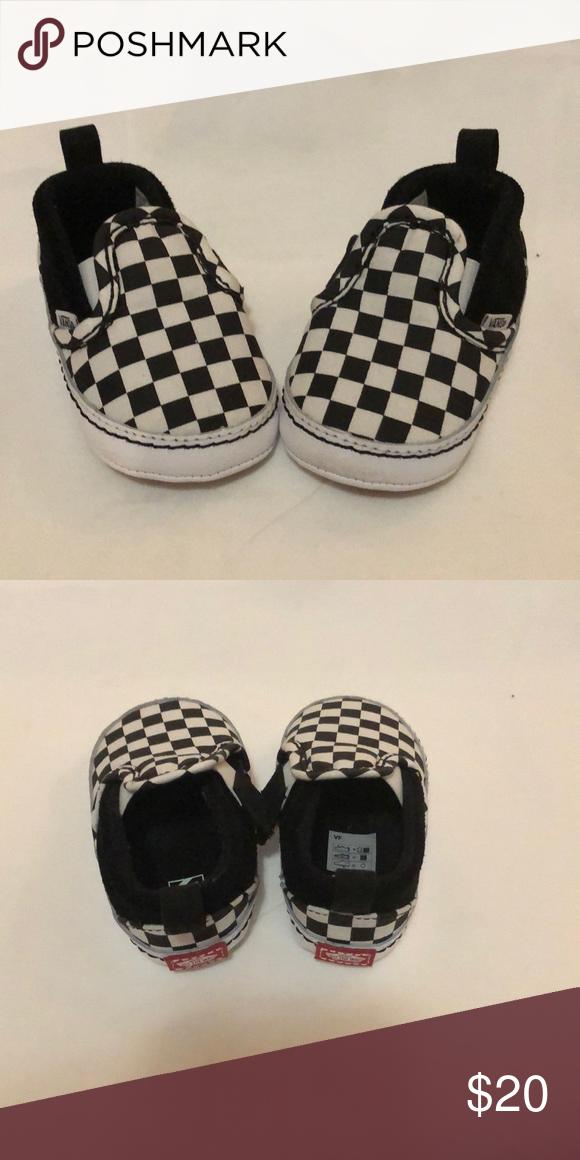 New Vans Baby Slip On Shoe Size 3 NWT