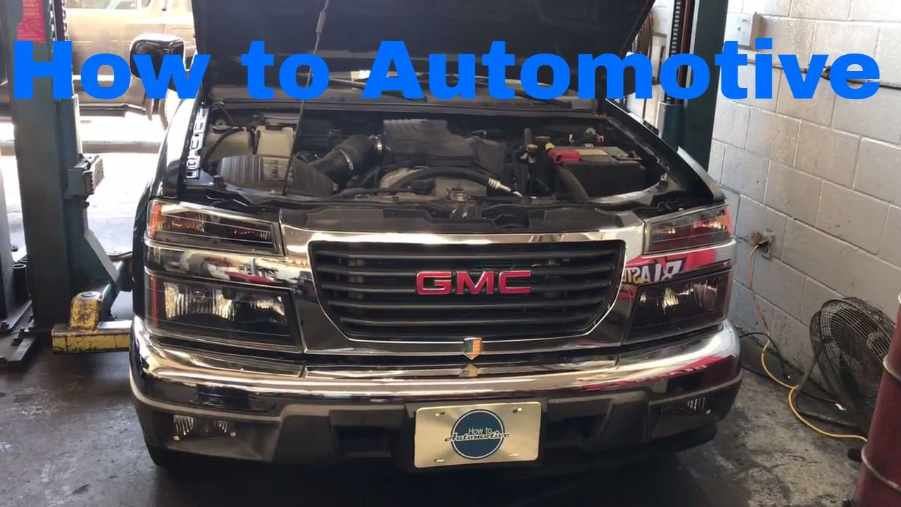 medium resolution of how to replace the water pump on a 2003 2012 chevy colorado gmc canyon
