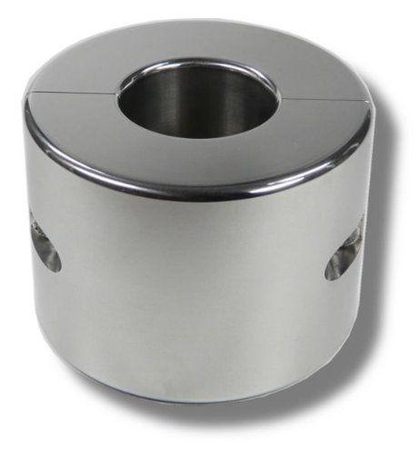 Hodenring Ballstretcher 30 mm hoch, Innen, 33 mm, 1 kg schwer aus poliertem Edelstahl