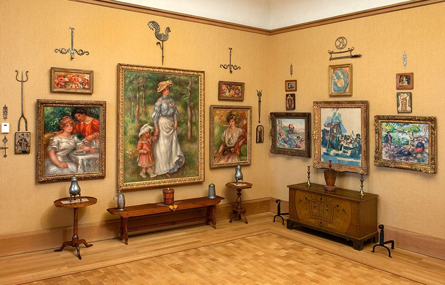 Barnes Foundation The onceprivate collection of art