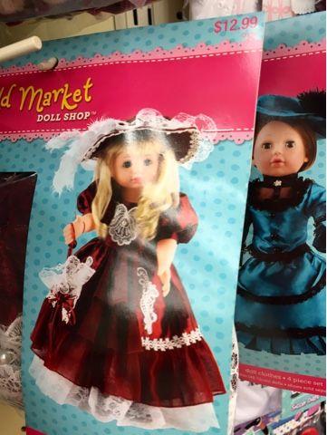 Marigold Market Doll Shop : marigold, market, PennilessCaucasianRubbish, American, Adventures:, Victorian, Marigold, Market, 18inch, Clothes, Hobby, Lobby!, Doll,