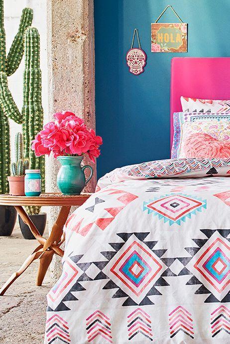 d coration d 39 inspiration mexicaine d coration mexique. Black Bedroom Furniture Sets. Home Design Ideas