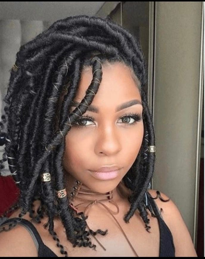 Image Result For Black Women With Locs Natural Hair Styles Faux