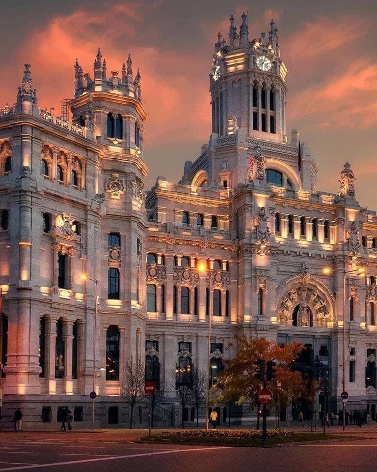 Palacio Cibeles Madrid Spain Madrid City Beautiful Places On Earth Beautiful Places To Visit