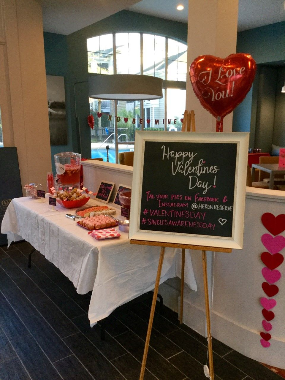 Valentine S Day Social At Apartment Community Treats And Tweets Apartmentliving Communityevents
