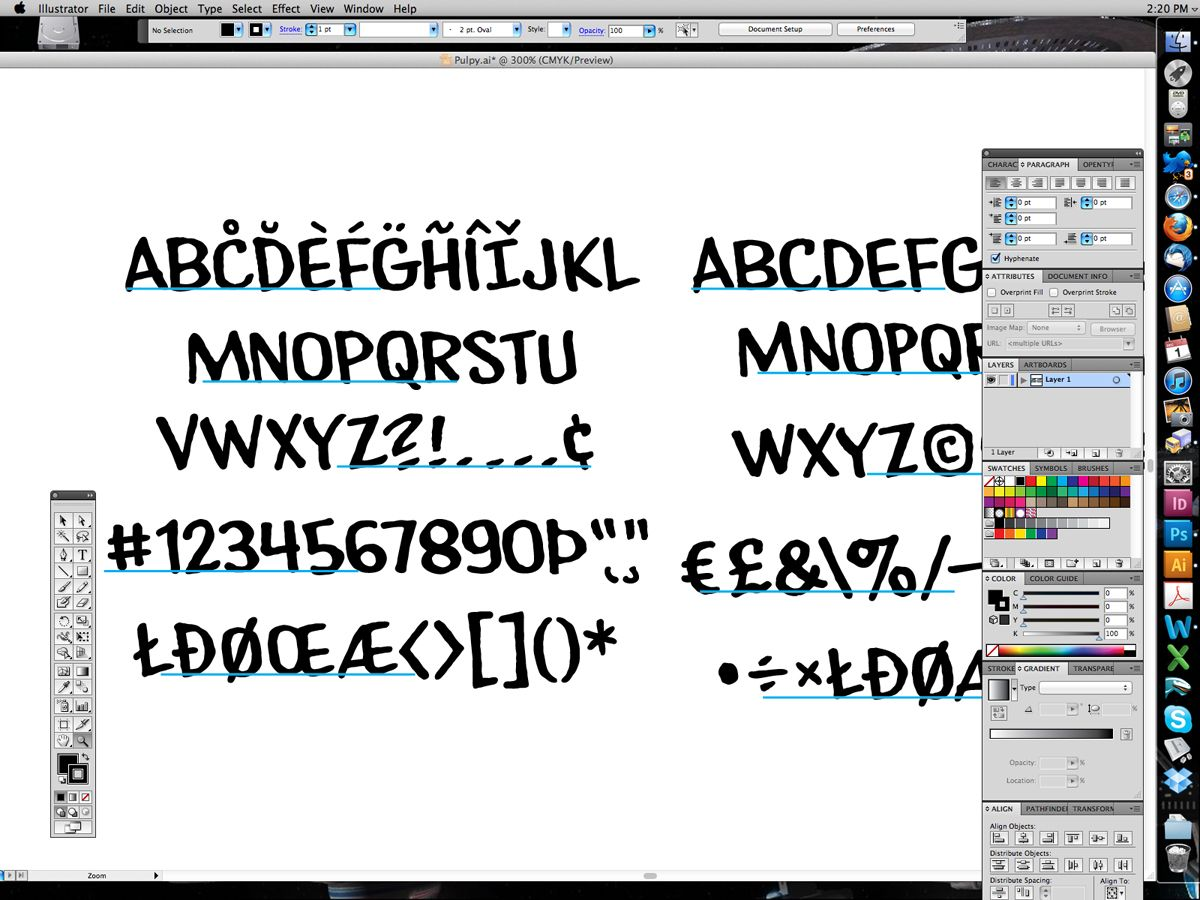 The Black Beetle Anatomy Of A Font A Lettering Feature By Nate
