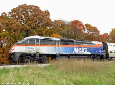 (Photos) Fall Colors Express in Morton Grove #mortongrove A Metra train in Morton Grove, Illinois--at Linne Woods. #mortongrove (Photos) Fall Colors Express in Morton Grove #mortongrove A Metra train in Morton Grove, Illinois--at Linne Woods. #mortongrove