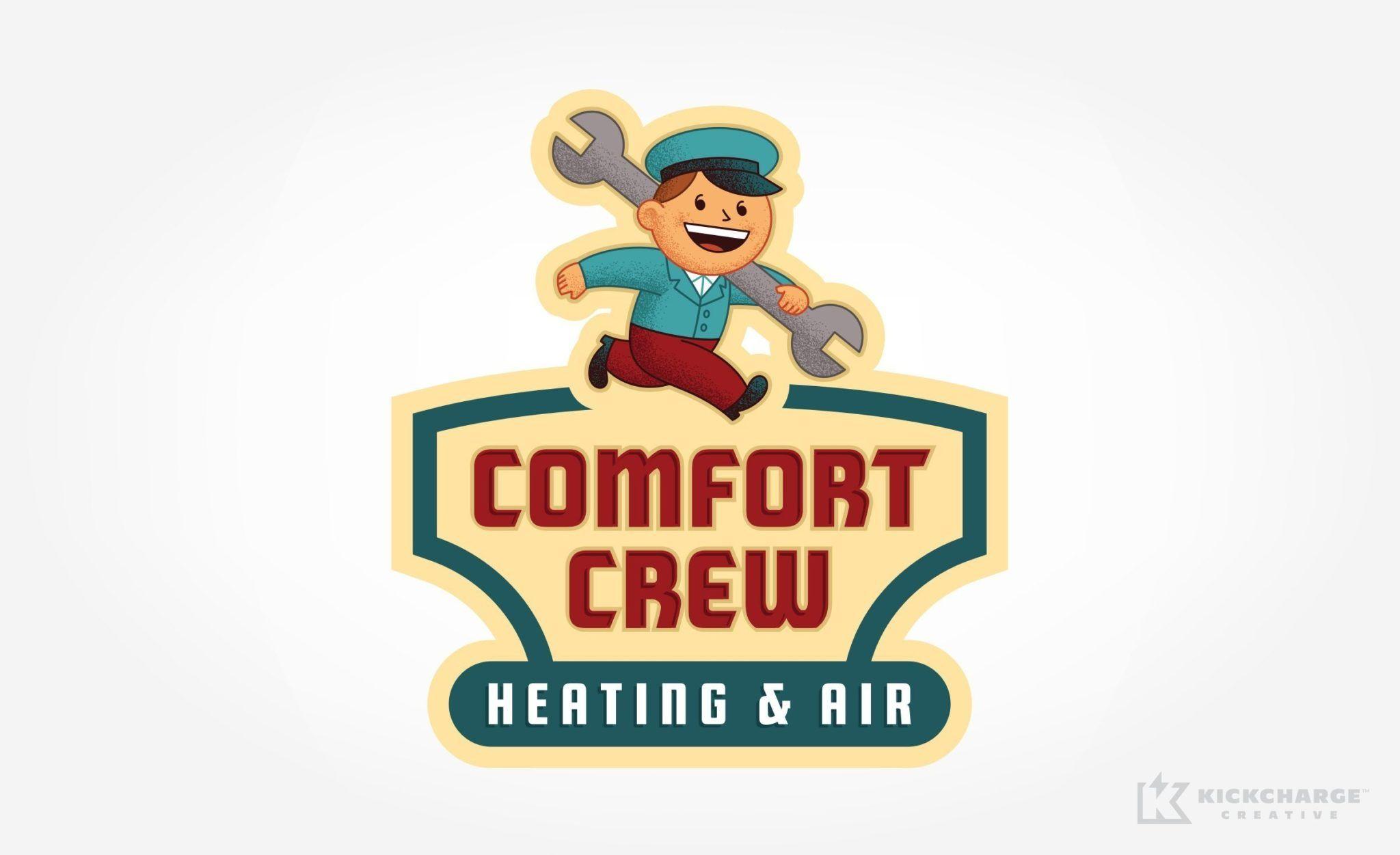 Comfort Crew Heating & Air KickCharge Creative (con