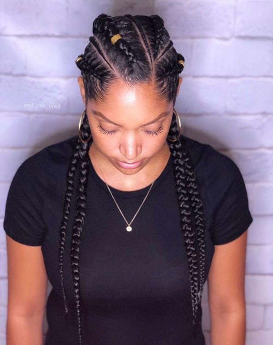 60 Inspiring Examples Of Goddess Braids Beauty Braids Braided