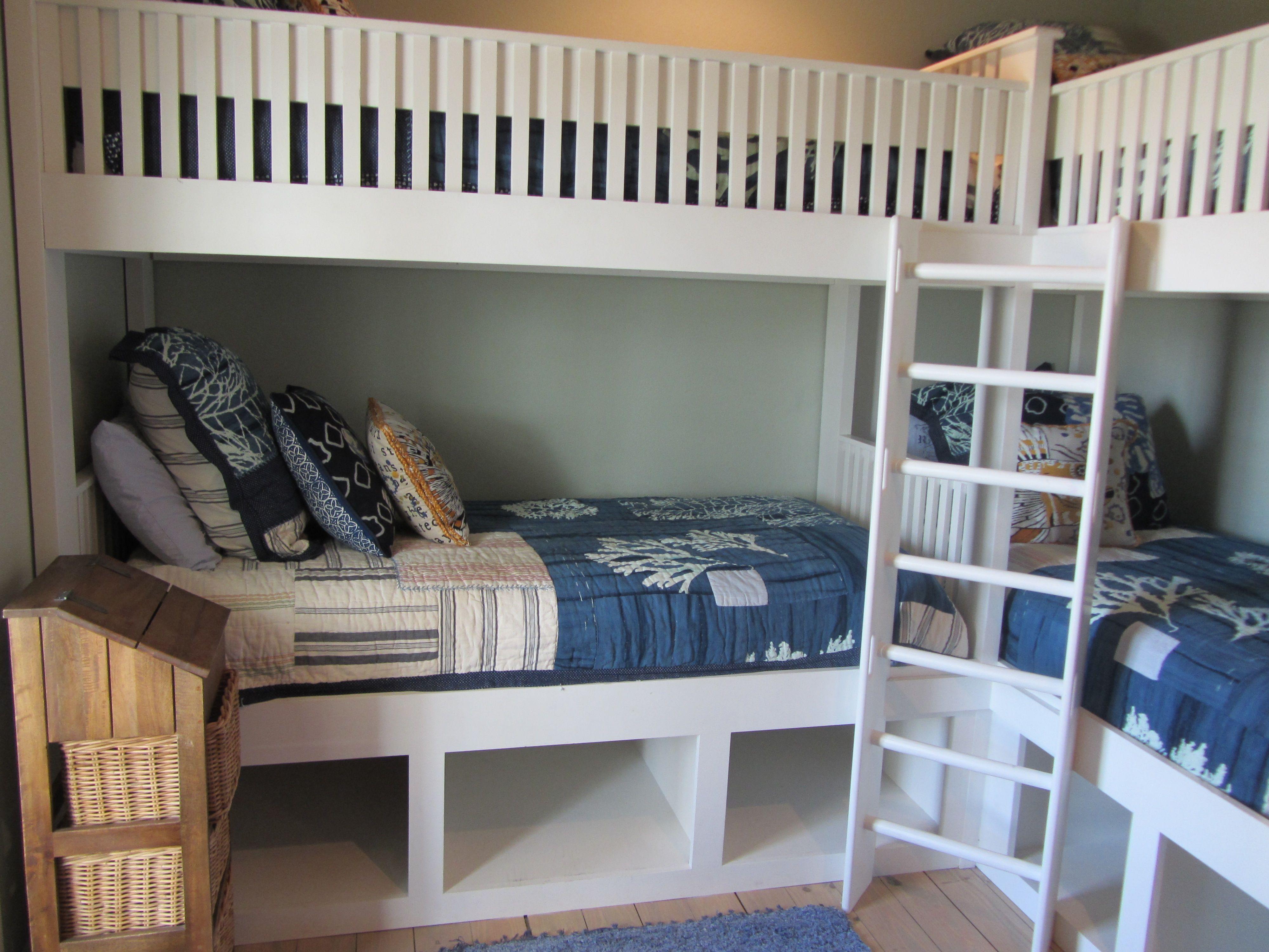 Corner Bunk Beds Bunk beds Pinterest