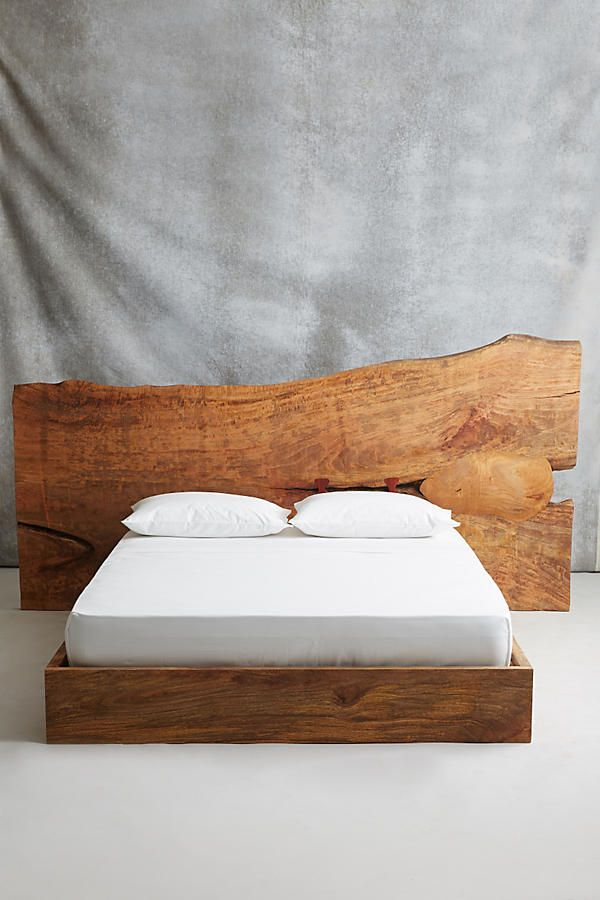 Shop The Live Edge Wood Queen Bed And More Anthropologie At Anthropologie  Today. Read Customer
