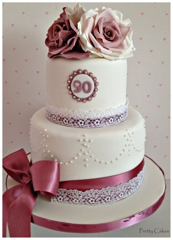 Grandmothers Birthday Adult Birthday Cakes In 2018 Pinterest