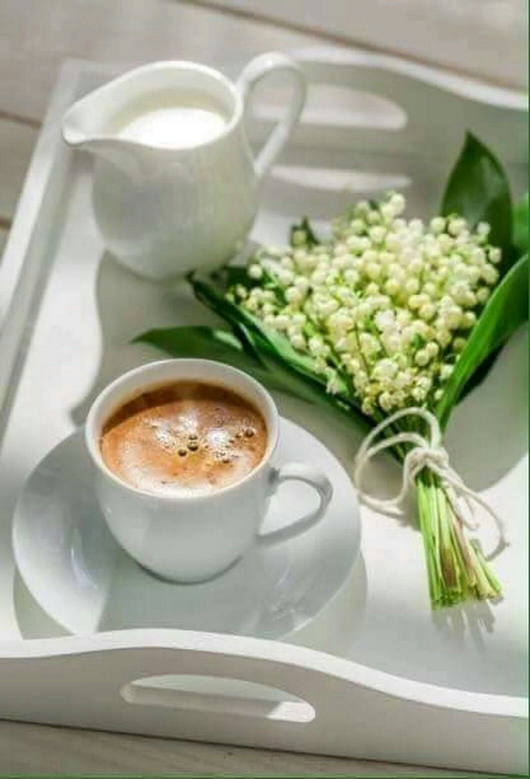 Lily Of The Valley Spring Coffee Coffee Time Sunday Coffee