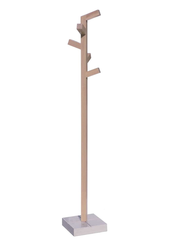 Perchero de pie moderno de madera organica 2 insilvis oaxaca pinterest furniture - Percheros modernos ...