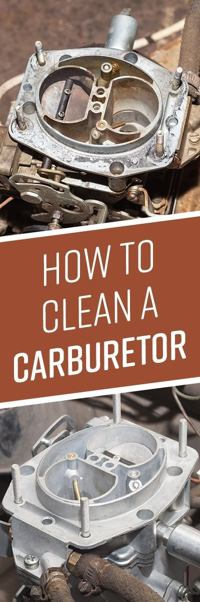 How To Clean A Carburetor Cleaning How To Clean Aluminum Carburetor