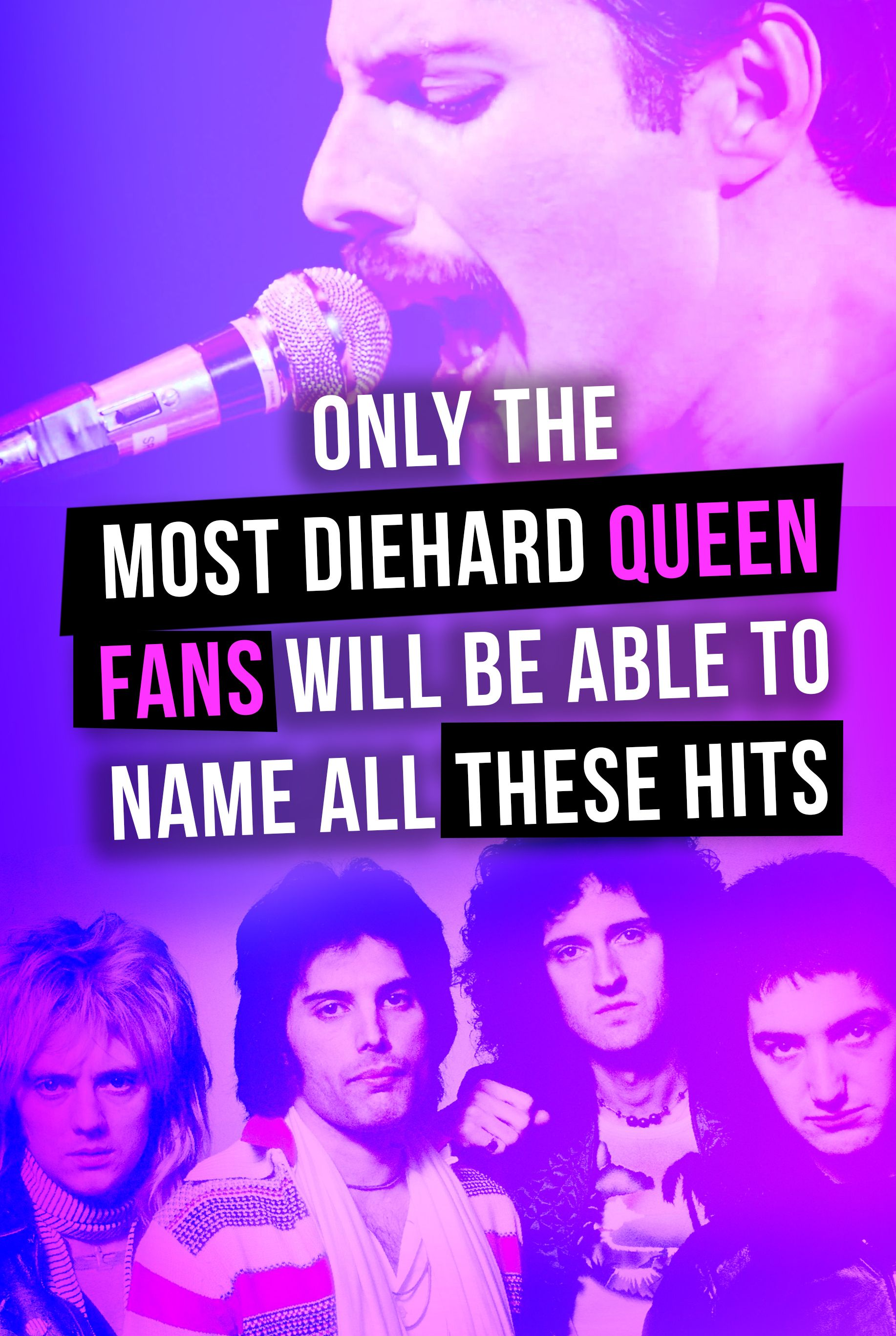 Quiz: Only Diehard Queen Fans Can Name All Of These Hit