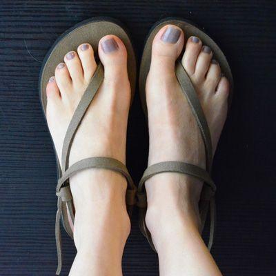 Sandalo Infradito Spago | Cammina Leggero - Scarpe Vegan