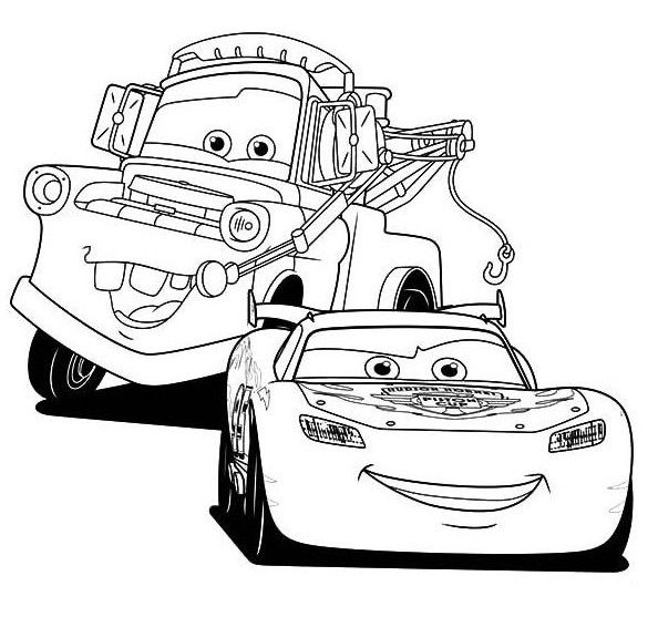 lightning mcqueen coloring pages | Disney's Cars Coloring Sheets ...