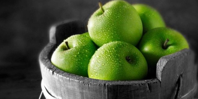 Hd Wallpapers 720p Green Apple Apple Fruit Fruit Wallpaper