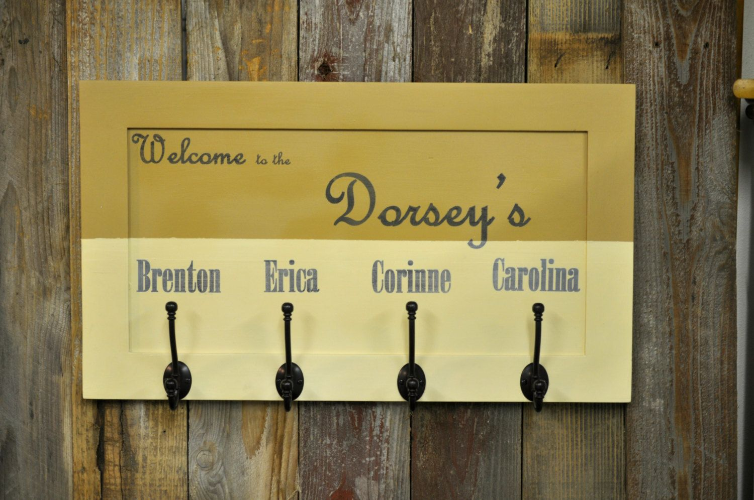 Personalized Coat Rack Personalized Coat Rack Together Forever 2 ...