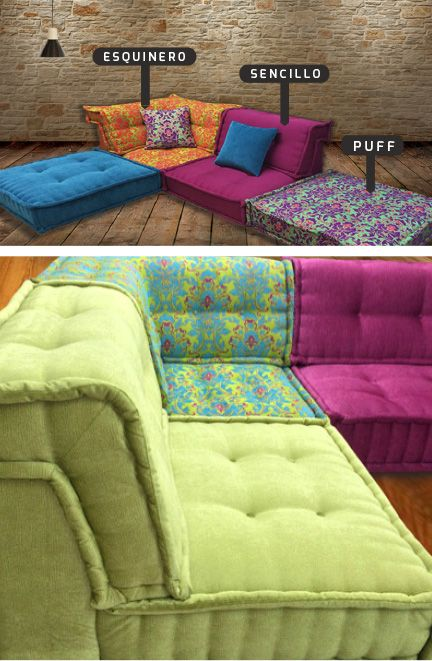 mah jong 5 botero muebles pinterest floor couch. Black Bedroom Furniture Sets. Home Design Ideas