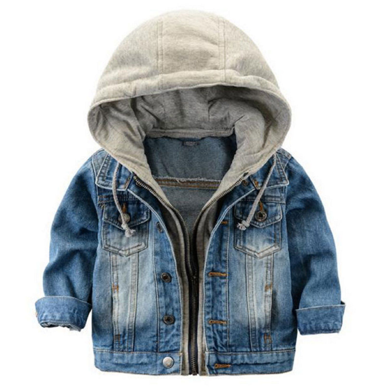 36fec6a52 Hot Sale! Fashion Denim baby Boys Children outerwear coat fashion ...