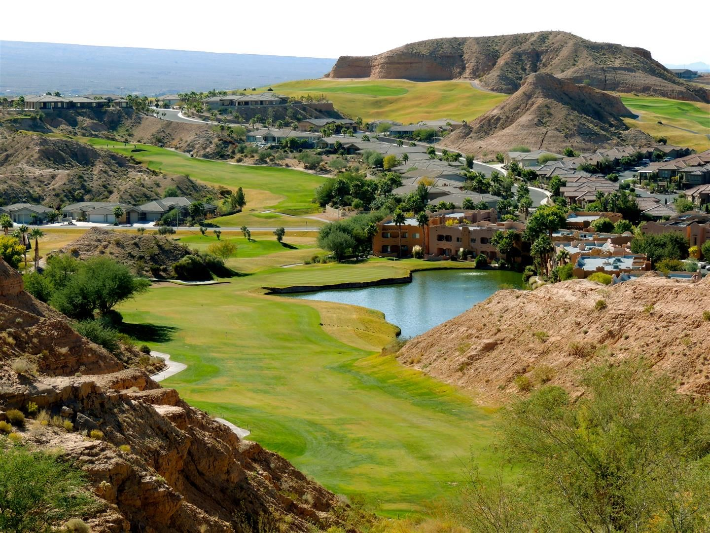 Oasis Golf Course Mesquite Nv The Palmer Course One Of The